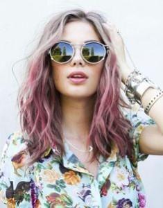 Pink Ombre vlasy z Pinterestu