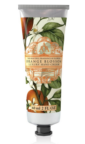 hand cream orange blossom