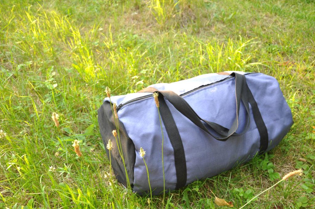 Šití: Sportovní nebo cestovní taška #jednoduchýnávod