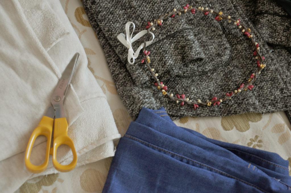 Jak zajímavě začistit nebo zkrátit džíny? #rošťáckýpodzim