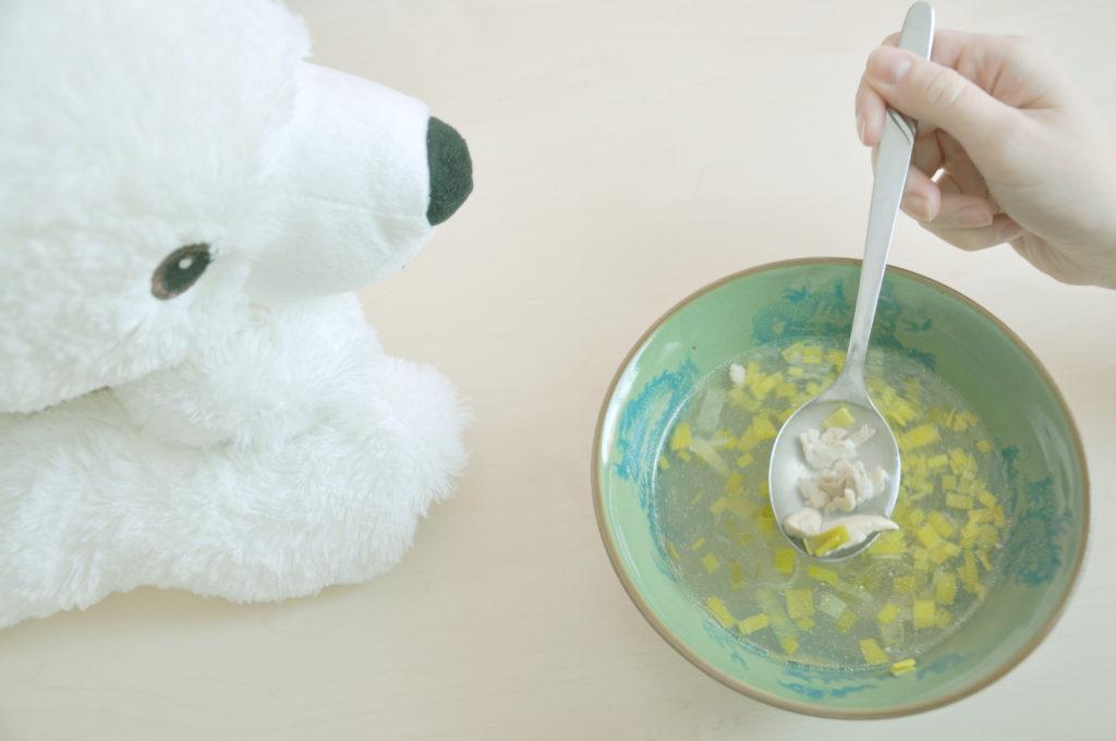 Zázvorová kuřecí polévka s pórkem – skvělá v zimě.
